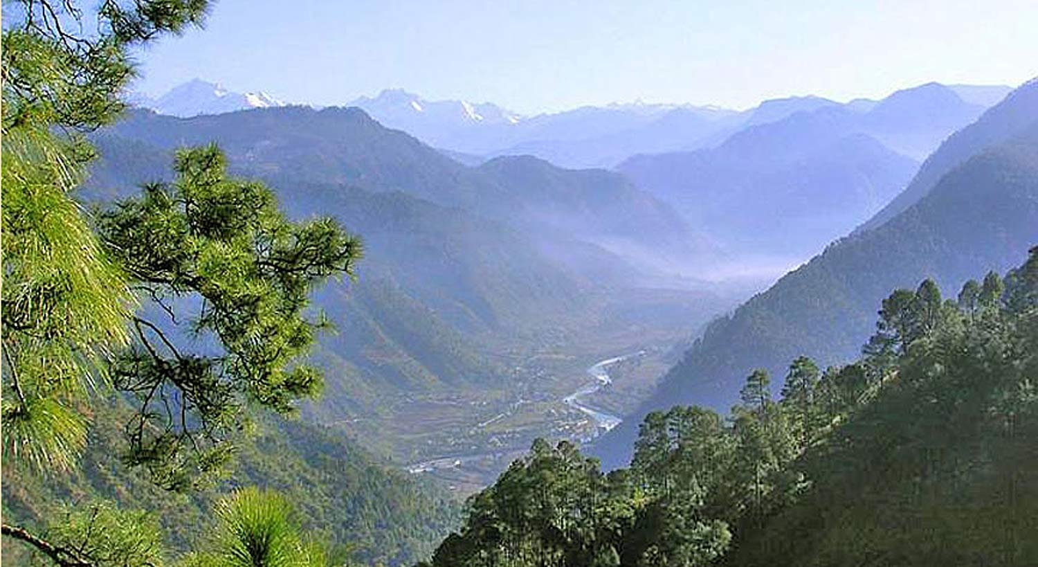 Purusha Location, Uttarkashi, India